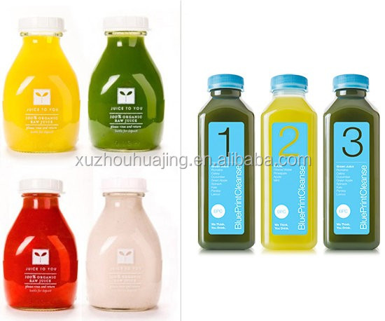 High quality 250ml 500ml 8oz 16oz square beverage glass juice bottle high quality 250ml 500ml 8oz 16oz square beverage glass juice bottle with plastic screw cap and malvernweather Image collections