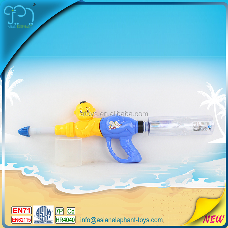 Bomb Water Gun For Kids Realistic Water Gun With Mineral Spring Water Bottle