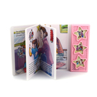 Children board story book sound module for children book printing