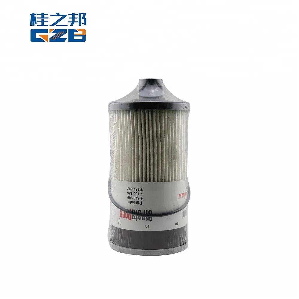 excavator spare parts 53c0945 diesel filter for clg