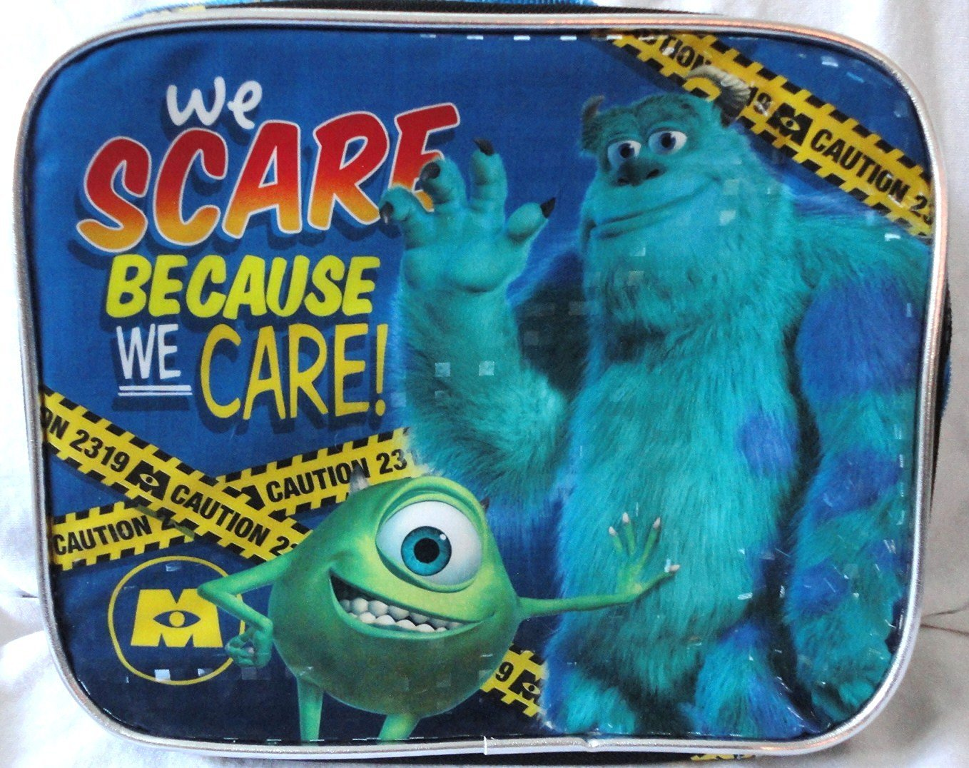 Disney Pixar Monsters Inc. Insulated Lunch Bag by Monsters University