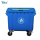 factory direct sell 660 liter wheelie bin garbage bin