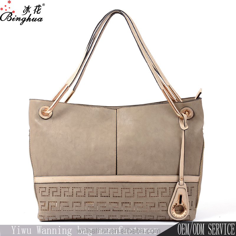China Alibaba designer hobo style PU material lady bags online shopping