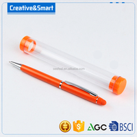 wholesale free ball pen sample metal stylus ball pen with custom logo for school&office