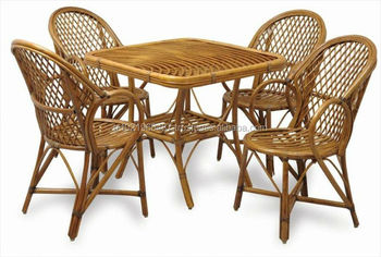 Superb Original Natural Bamboo Rattan Dining Set Wood Outdoor Chair Table Buy Bamboo Dining Table And Chairs Table And Chair Set Vogue Dining Table Sets Short Links Chair Design For Home Short Linksinfo