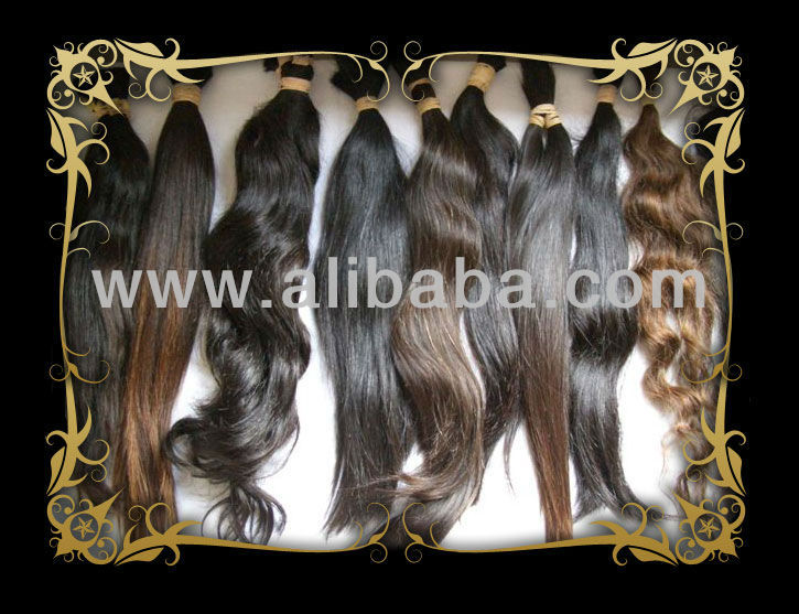 Brazilian, Indian, Malaysian, Argentinian and Peruvian Hair