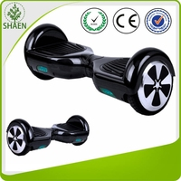 2016 new fashion mini portable two wheels self banace elctric scooter with bluetooth and remote