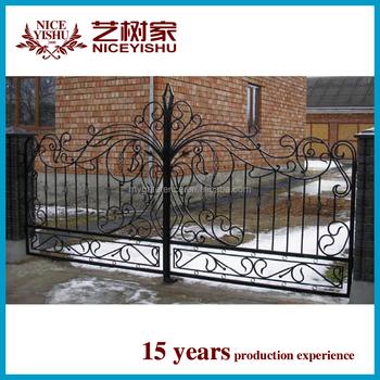 Indian House Main Gate Designs,Tubular Gate Design,Wrought Iron ...