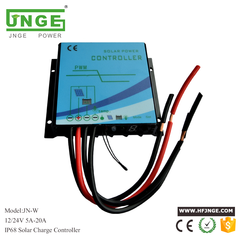 Controlador Solar 12v Intelligent Panel Battery Lcd Display Solar Charge Controller With Output Switch 10a/20a Solar Charge. Back To Search Resultshome
