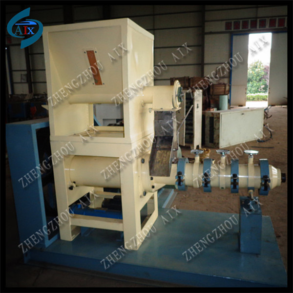 Single screw snack extruder/corn extruder/soybean extruder machine