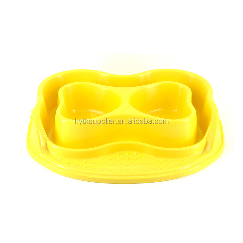 Melamine pet dog feeder bowl