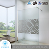 5MM Tempered Glass Oxidized Aluminum Frame Quardant Shower Enclosure