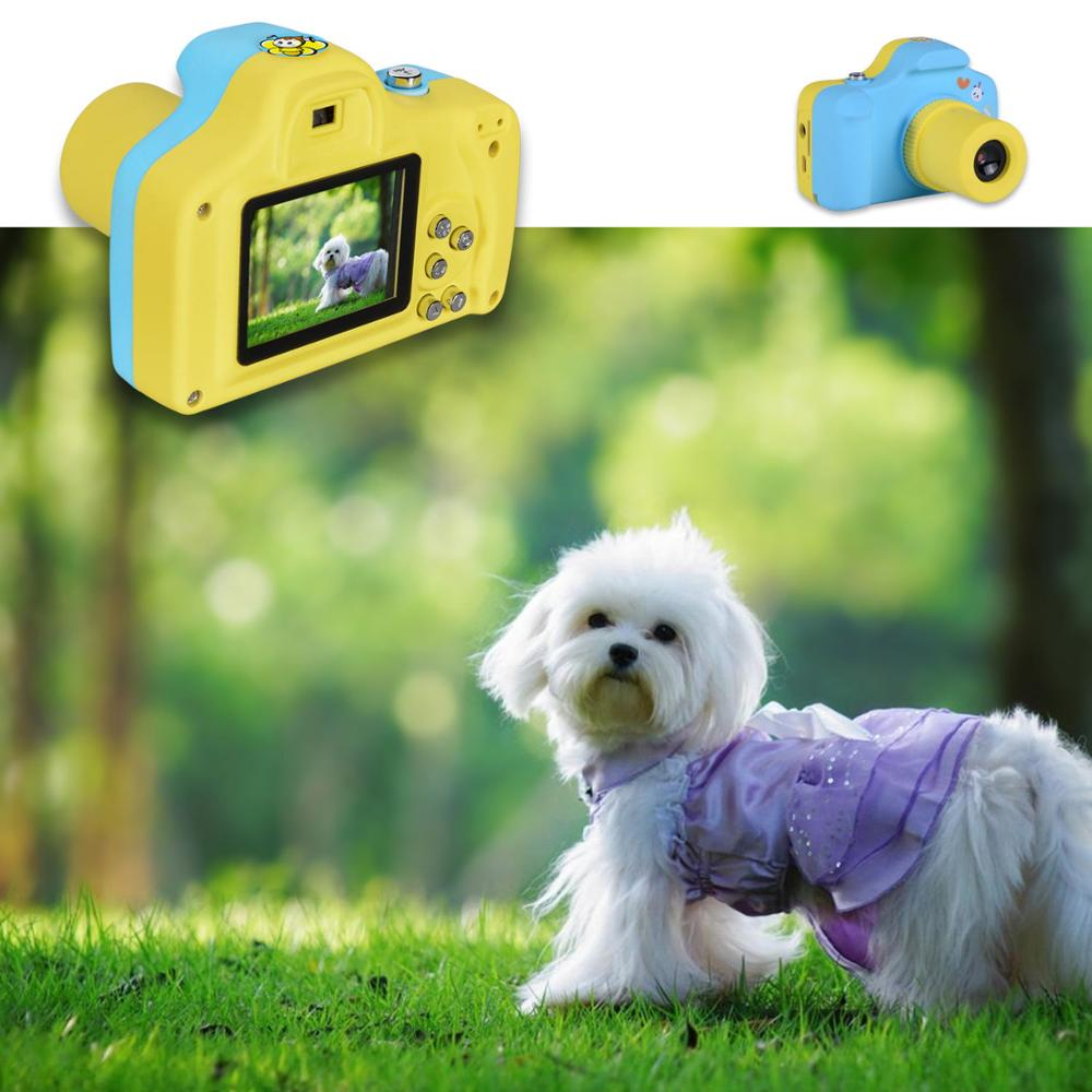 Kids Gifts Children Camera 1.5 Inch LCD Display 2MP 1080P HD Mini Digital Child Camera Sports Multifunction