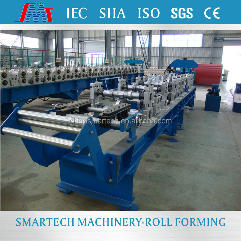 YKA326 Hot sale Color coating sheet round ridge cold roll forming machine with high quality