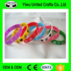 Promotional gifts energy bracelet / cheap silicon wristband /personalized silicon bracelet