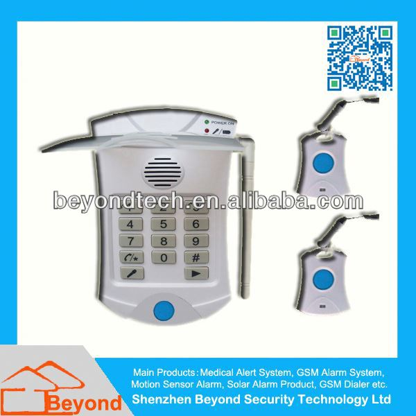 Patient Household Senior Care Alarm with CE FCC RoHS Approved