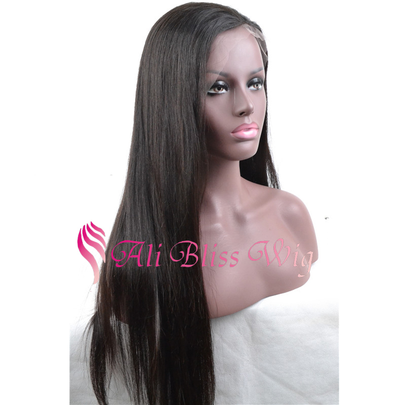 8b1ebdfa1 Buy Cheap Virgin Brazilian Silky Straight Full Lace Human Hair Wig Glueless  Long Straight Lace Front Human Hair Wigs For Black Women in Cheap Price on  ...