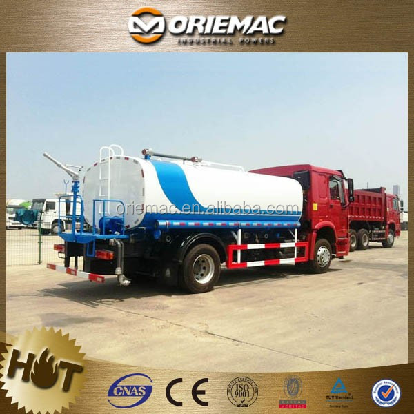 dongfeng 7T light stainless steel water tank truck with spray water ( shipping by 20ft container )