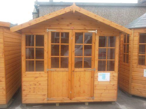 Wooden Garden Houses 8x6