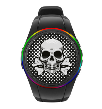 2017 Funny Bluetooth Speaker Watch Halloween Sound Props Of Music ...