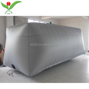 Waterproof car capsule inflatable hail proof car cover