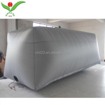 Waterdichte auto capsule opblaasbare hagel proof auto cover