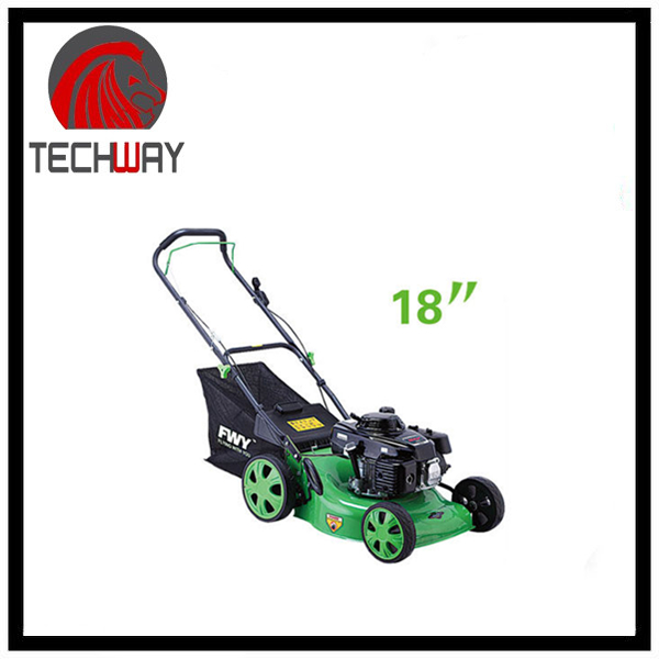 fashion design hand reel push lawn mower