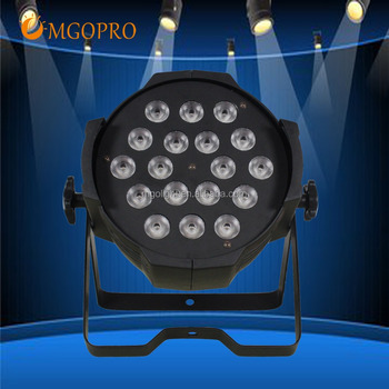 2018 Best quality Cheap 18pcs 10w led battery par