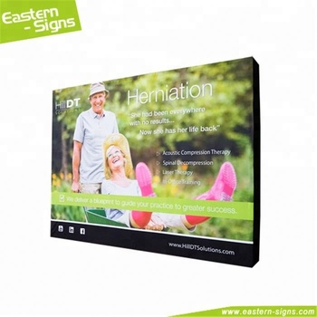 Standard Size Straight Tension Fabric Adver Quick Install Display Cases Pop Up Trade Show Displays
