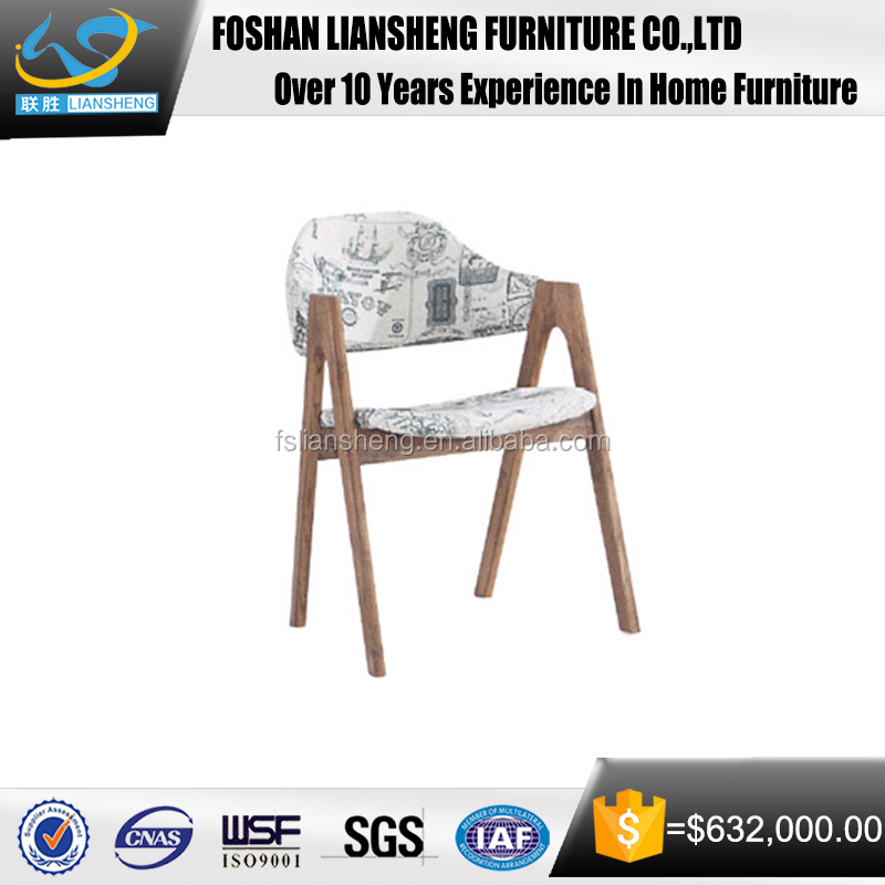 Modern Ash Wood Furniture High Quality Dinner Chair Cheap Cafe Chairs