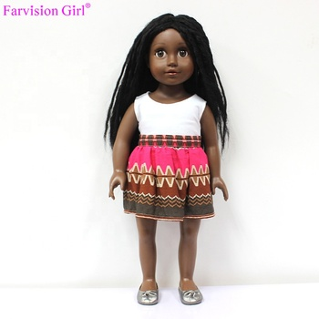Plastic Fashion Girl Doll Manufacturer African American