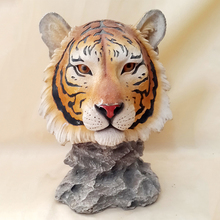 Promotional gift of tiger head wall hanger for home /office decoration