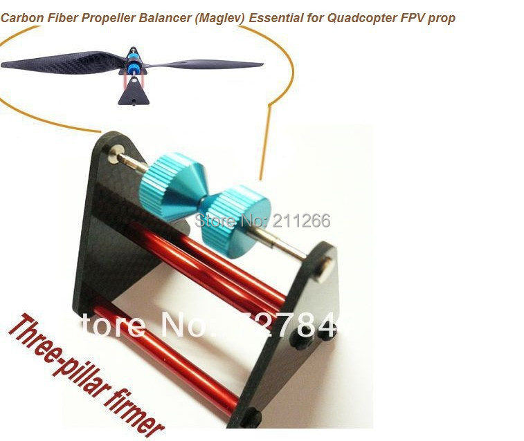 LHM077 Carbon Fiber Magnetic Propeller Balancer Prop Essential For Quadcopter FPV Helicopter Airplane + Free shipping