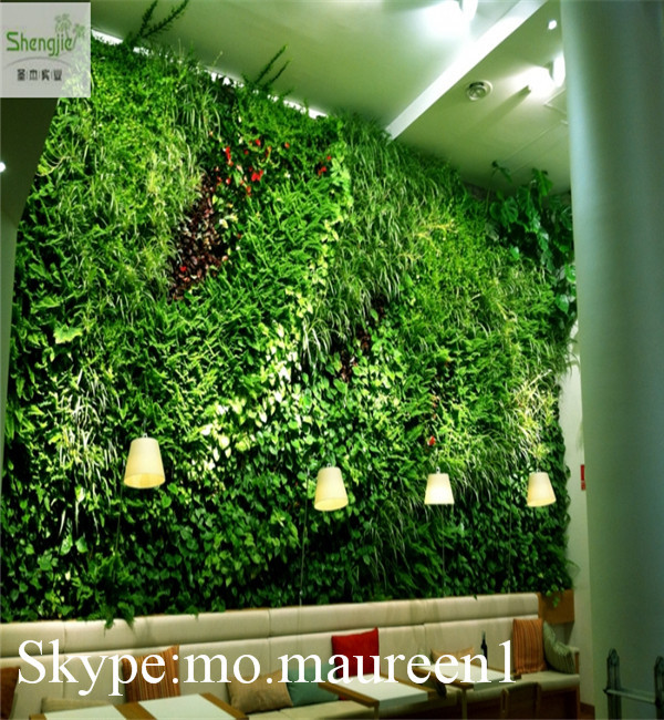 New design vertical artificial green wall for wall for Artificial grass indoor decoration