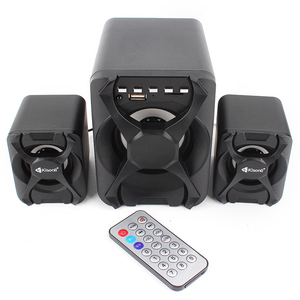 USB SD FM MP3 Remote control 2.1 multimedia speaker with stereo sound system
