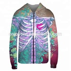 Custom sublimated 3D print sweatshirt hoodies