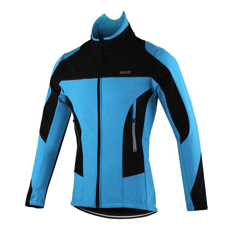 Get Quotations · TOFERN Men s Winter Warm Fleece Waterproof MTB Bike  Cycling Jacket Breathable 237540c25