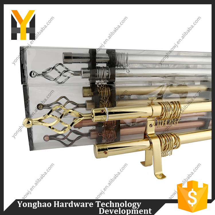 TOP SALE super quality iron curtain rod for window curtain