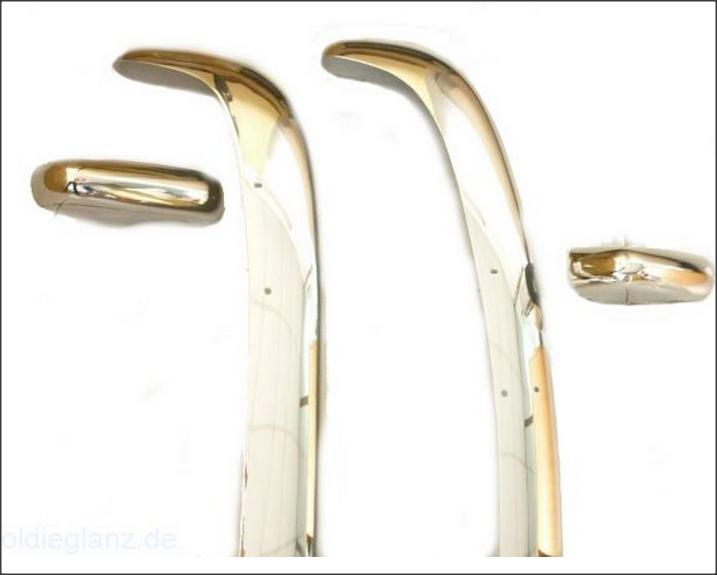 VW Type 3 Bumpers 1963 to 1969