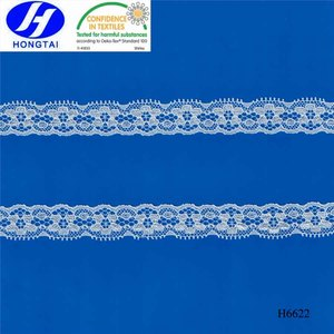 Chopper Bar lace trim cotton nylon spandex tulle embroidery fabric 3d flower for wedding dress