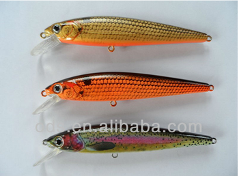 New LED lure custom fish bait plastic fishing rechargeable fishing lure