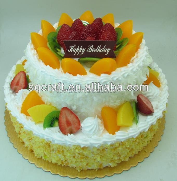 Fake Birthday Cake Model For Shop Sample Display Faux Birthday Cake
