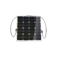 Small size flexible 50watts 18v solar panel for yacht