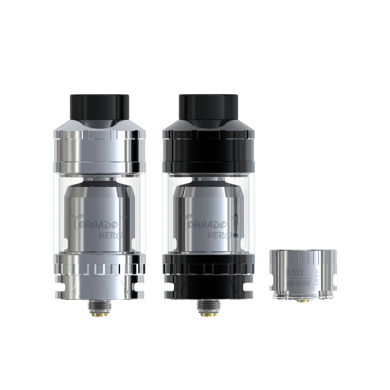 New ecig Ijoy Tornado Hero RTA/sub ohm tank is satisfied by customers!
