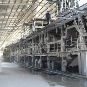 2100mm good quality corrugated packaging paper / coater /liner board making machine