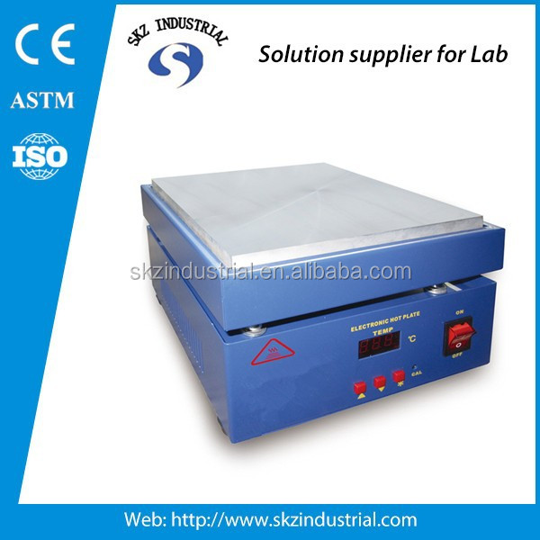 electronic lab temperature control aluminum heating plate