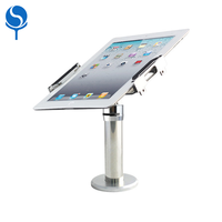 Flexible counter android tablet with stand 360 degree rotating cell phone holder