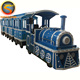 Amusement park electric trackless diesel train locomotive