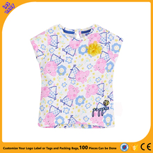 ins Brand children's clothing t-shirt short-sleeved body printed round neck children's t-shirt cotton t-shirt