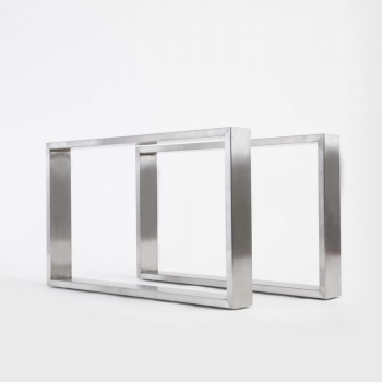 Office Furniture Accessories Industrial Wide Flat Stainless Steel - Stainless steel table accessories